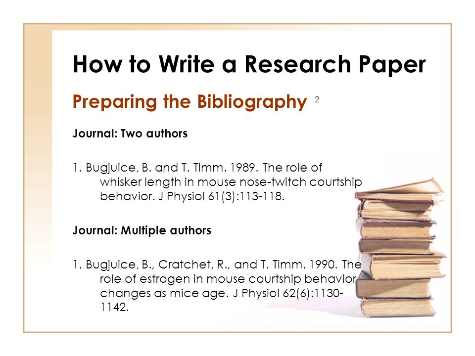 How to write an inspiring book, article or research paper