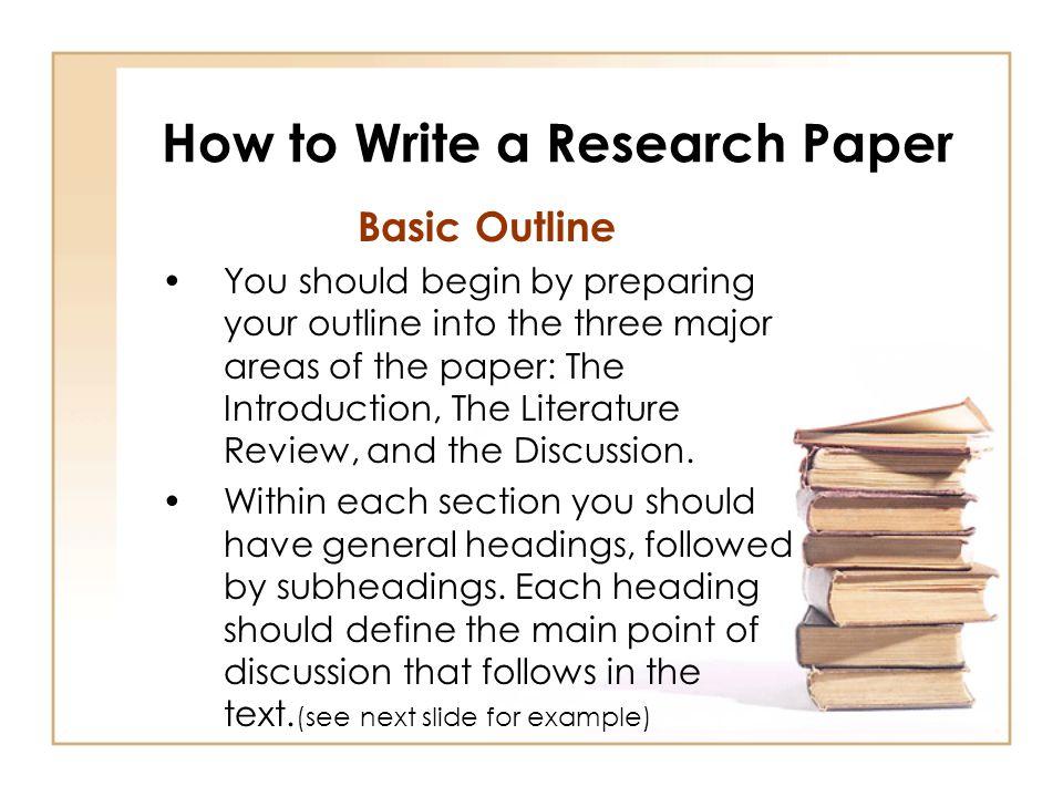 Literature Research Paper