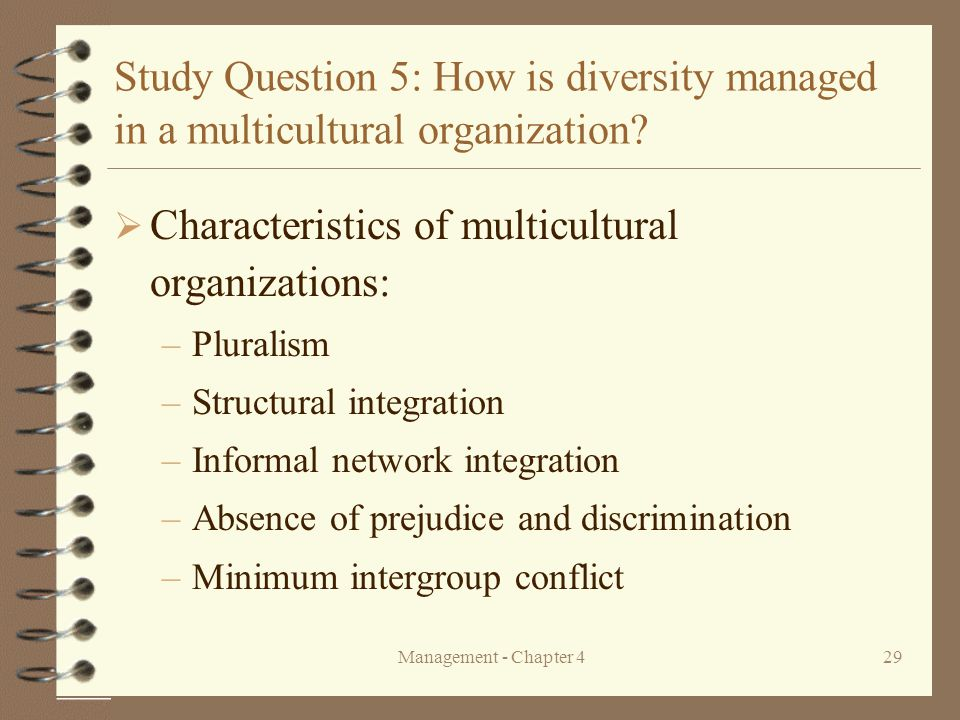 key characteristics of multicultural organizations In this article we review the key characteristics of businesses striving for ethical operations as put forward by alexandre ardichvili, james a mitchell and douglas jondle (2009.