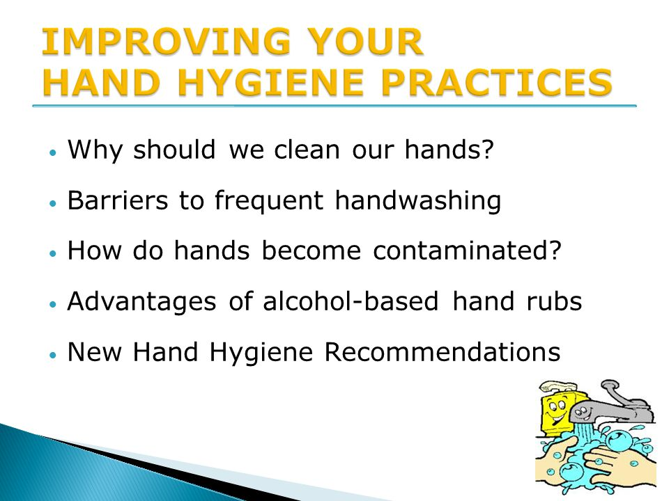 Evidence for Hand Hygiene Guidelines