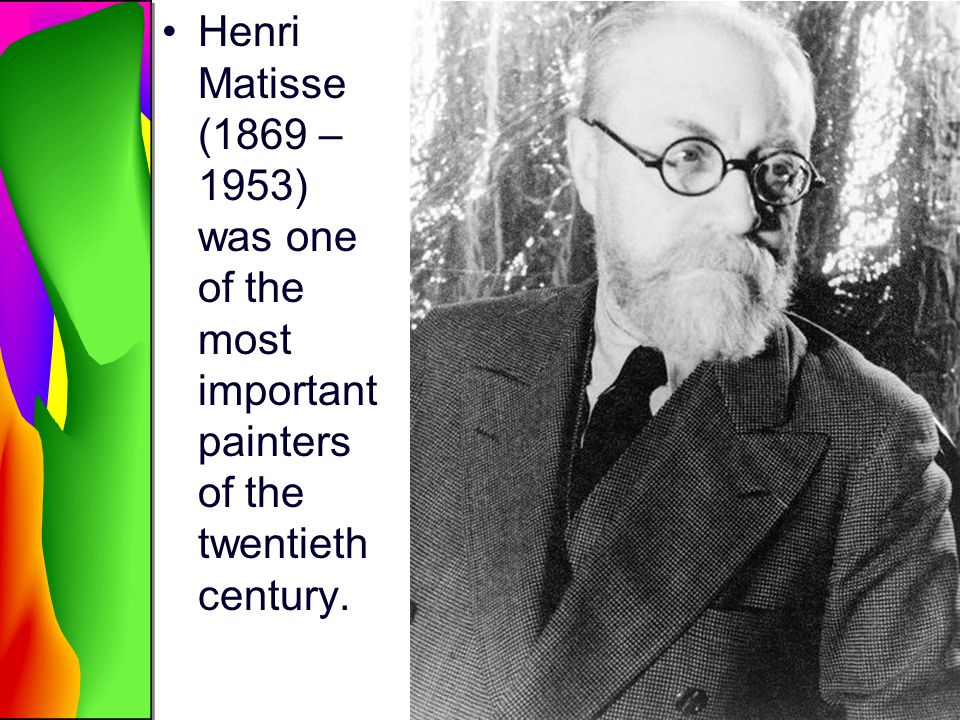 Henri Matisse (1869 – 1953) was one of the most important painters of the twentieth century.