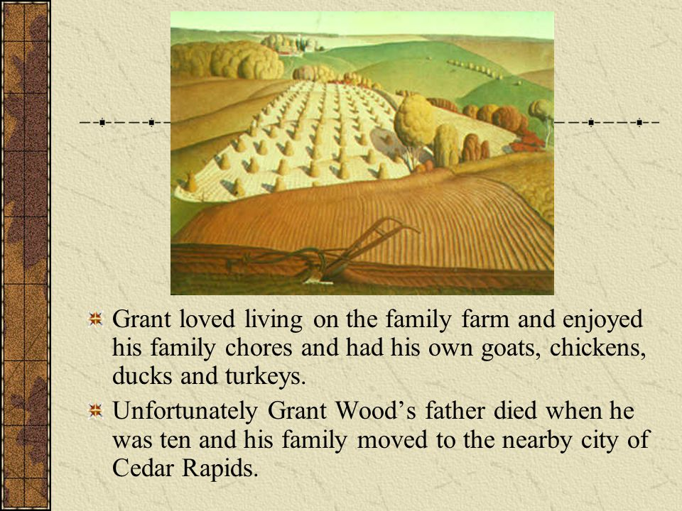 Grant loved living on the family farm and enjoyed his family chores and had his own goats, chickens, ducks and turkeys.