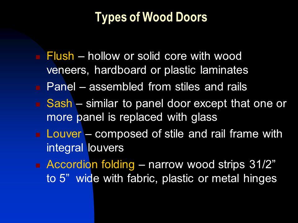 Images Of Types Of Wood Door