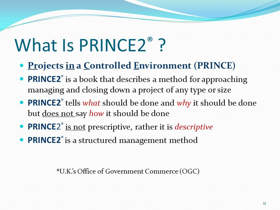 Project management principles ppt download for Prince2 terms of reference template