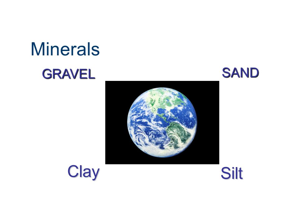 Soils investigation soils investigation ppt video online for Minerals present in soil