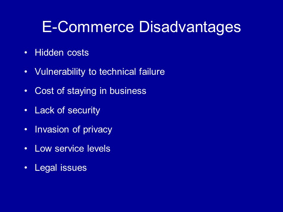 security issues of e-commerce essay The problems plaguing social network security and privacy issues, for now, can only be resolved if users take a more careful approach to what they share and how much.