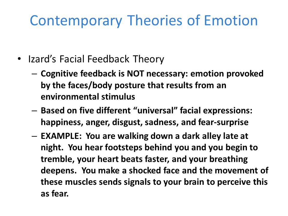 least two historical theories of emotion and arousal as they relate to human motivation At least two historical theories of emotion and arousal as they relate to human motivation such as more about emotions - universal or a learned phenomenon.