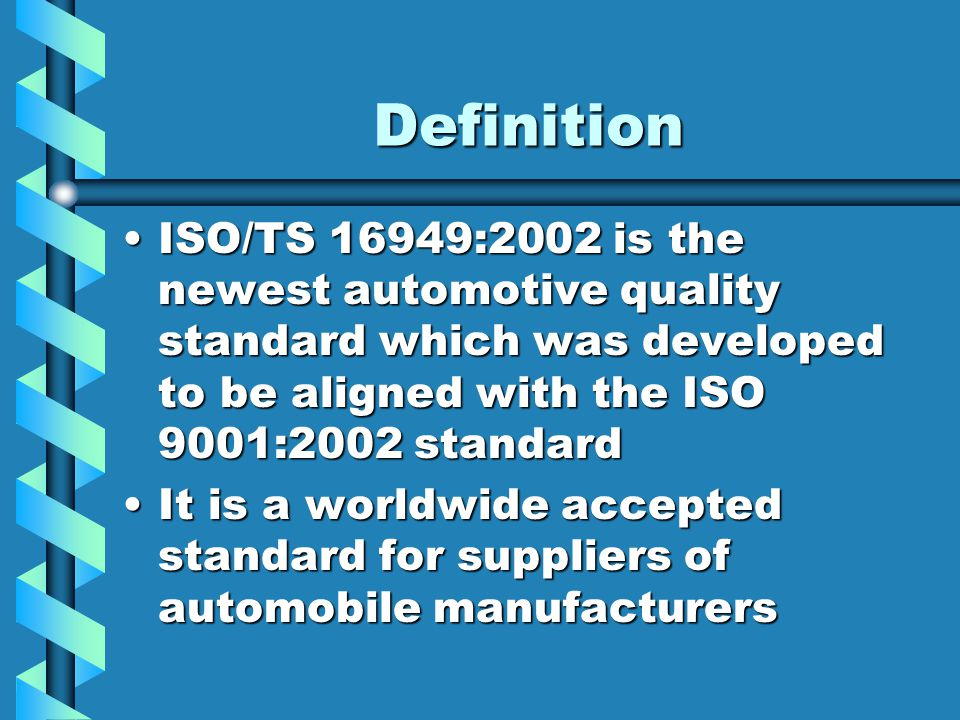 Ford Customer Specific Requirements.Ford Motor Company Customer ...