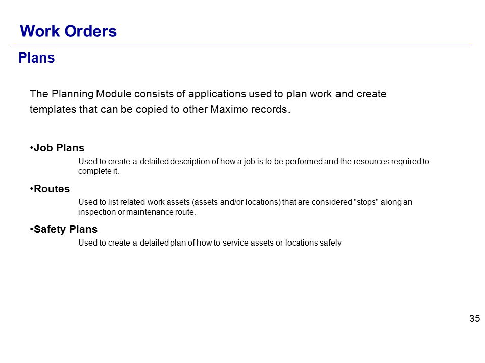 maximo communication template - maximo core concepts ppt download