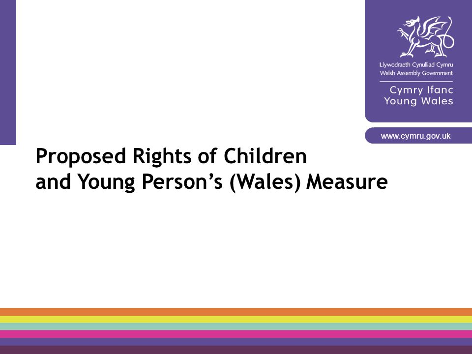 Proposed Rights of Children and Young Person's (Wales) Measure