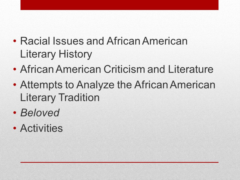 issue of race in the writings of african american writers Home literature and the arts literature in english american literature harlem renaissance  african american writers and  race issues within her wider interest .