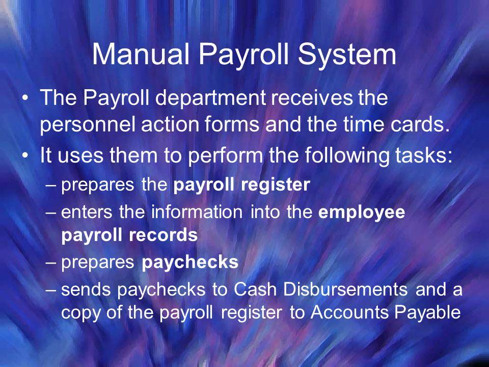 Documentation for payroll system | Homework - July 2019