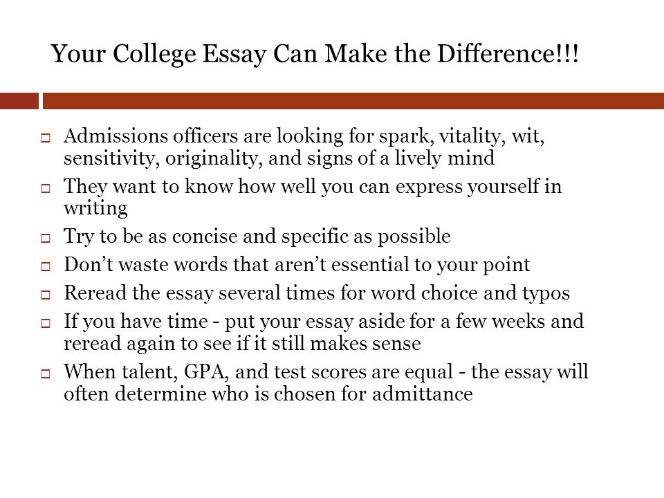 college difference essay made that Information, explains the topic of the essay, or defines  defined and made clear  enough to be supported  thesis statement: the school lunch menu needs.