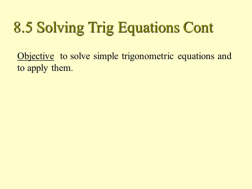 solving trigonometric equations using identities pdf