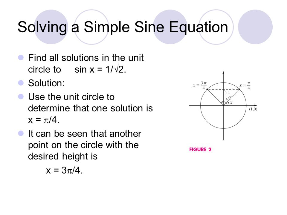 how to find the equation of a sine wave