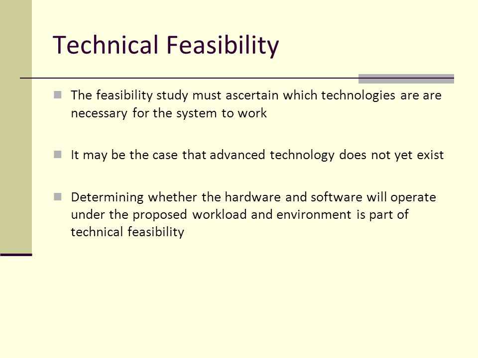 Cute Technical Feasibility Study Template Ideas - Example Resume ...