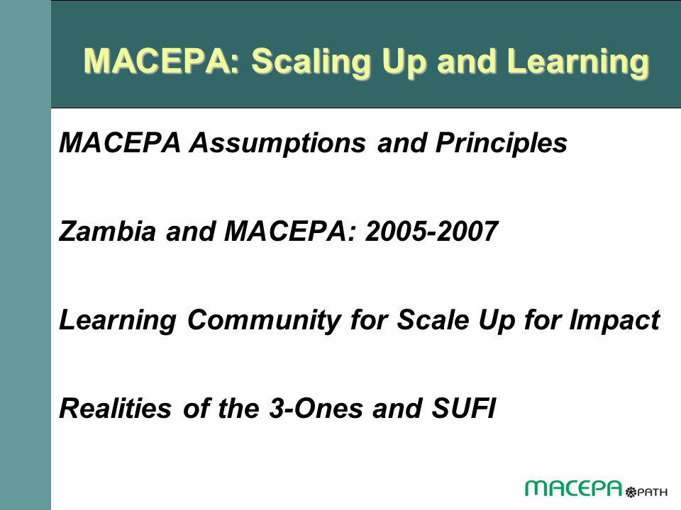 MACEPA: Scaling Up and Learning