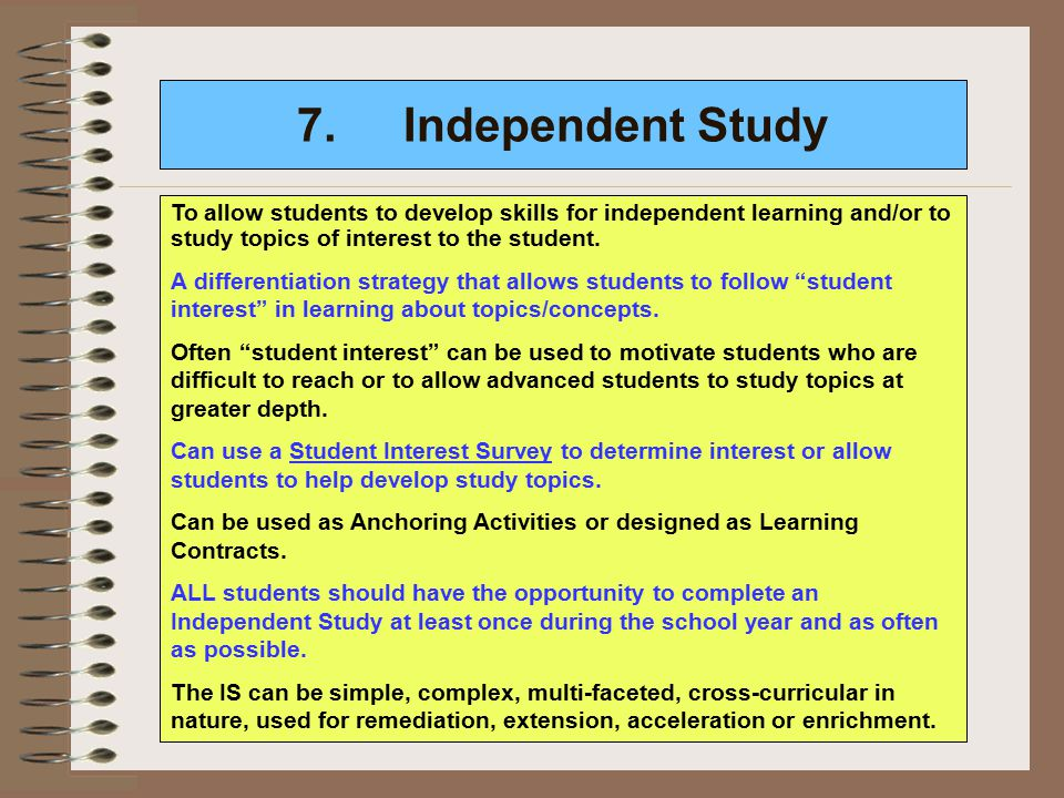 Learning Environment - Differentiated Instruction: ALL ...
