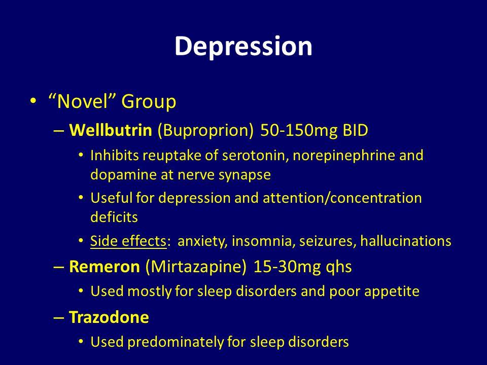 Trazodone For Sleep Disorder