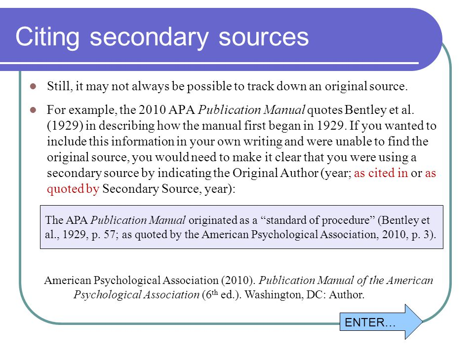 publication manual of the american psychological association 6th ed 2010