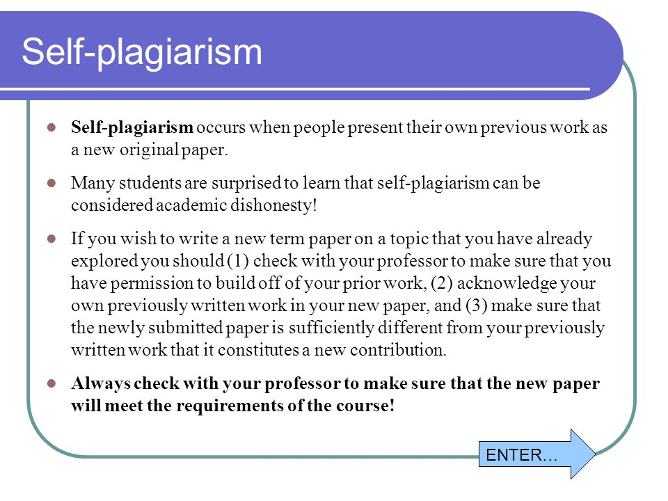 self plagiarism thesis Intentional plagiarism constitutes a deadly sin within the academic world in many   how to check a student paper/bsc thesis/msc thesis on plagiarism in order.