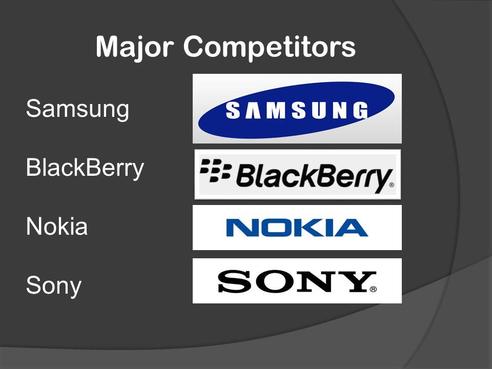 sony major competitors