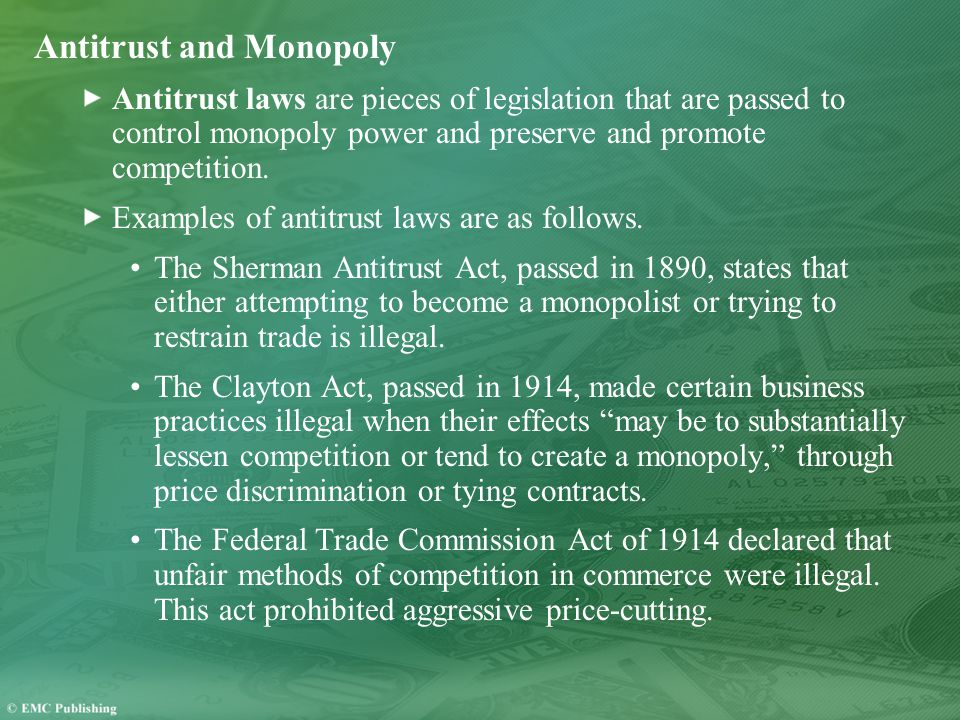 Antitrust and Monopoly