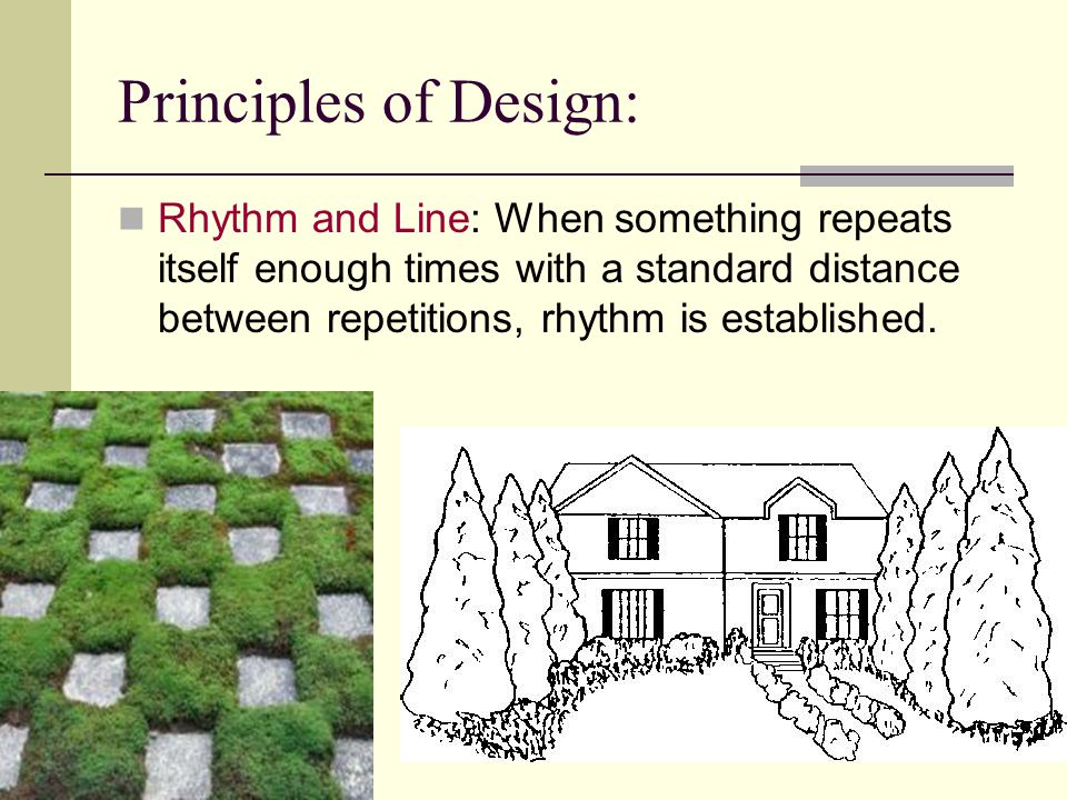 Design Landscape Remember Elements Principles Components