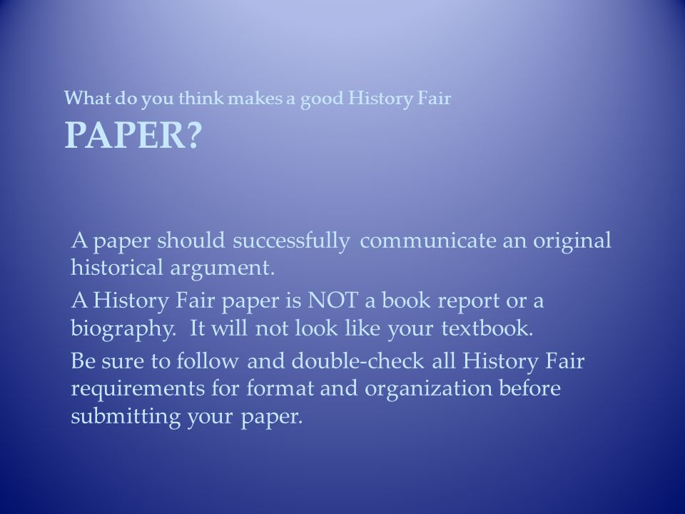 what makes a good biographical essay