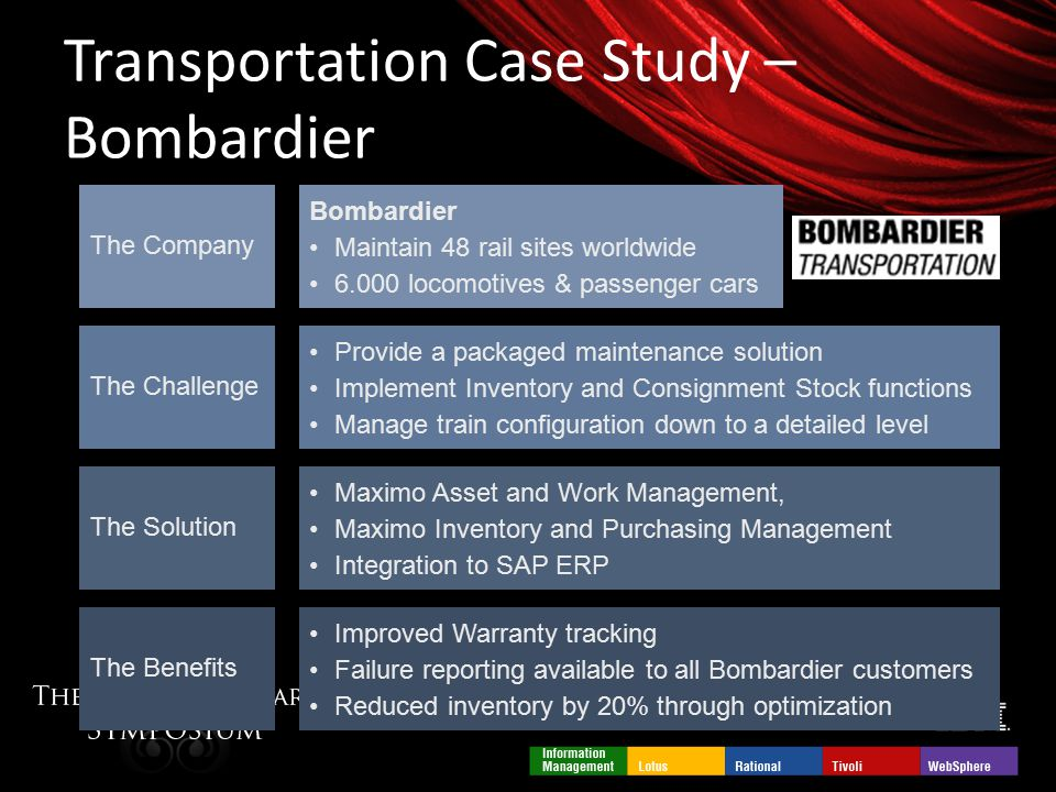 Work Organisation and Innovation - Case Study: Bombardier ...
