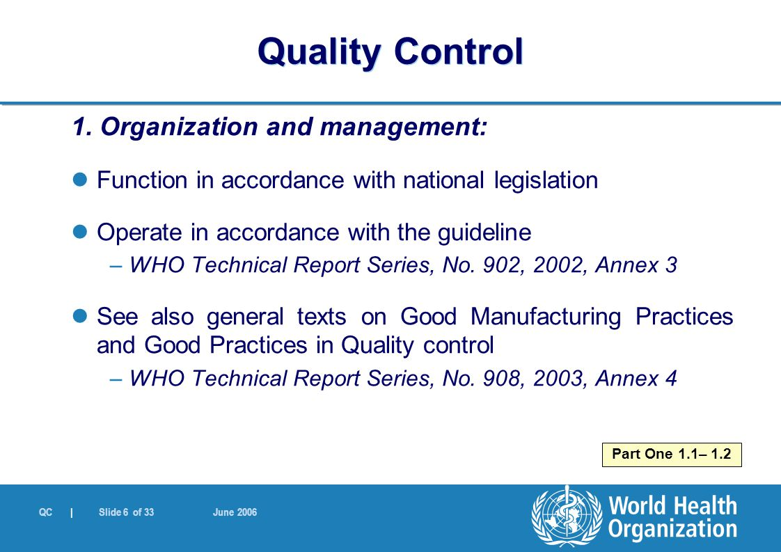 """the purpose of quality management in health care organizations Quality is defined as the extent of resemblance between the purpose of healthcare and the truly granted care (donabedian 1986) quality assurance originated in manufacturing industry """"to ensure that the product consistently achieved customer satisfaction."""