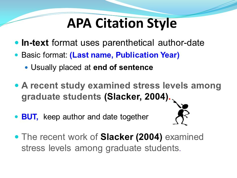 take the plunge  apa writing and citing ppt download