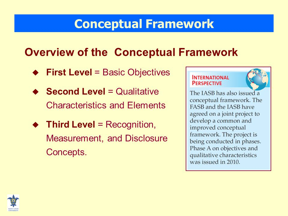 The FASB's Conceptual Framework of Accounting - ppt download