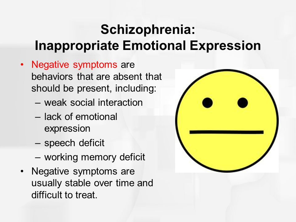 """prevalence of inappropriate behavior with schizophrenia Prevalence rates of schizophrenia according to simeone et al, 2015, """"among 21 studies reporting 12-month prevalence, the median estimate was 033 percent with a [range of between] 026 ."""