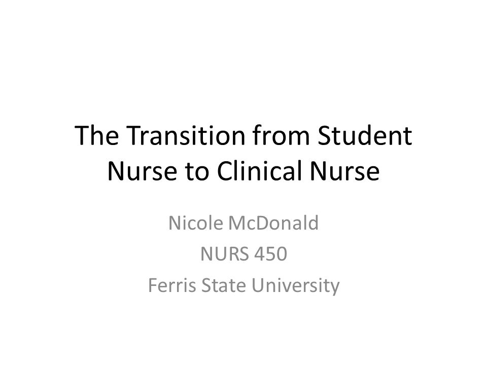 transition from student nurse to staff nurse The period of graduate nurse transition is characterised  transition from student to registered nurse in a private  staff retention, turn-over .