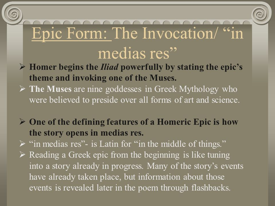 The Iliad An Epic Poem By Homer Written around 750 B.C. - ppt ...