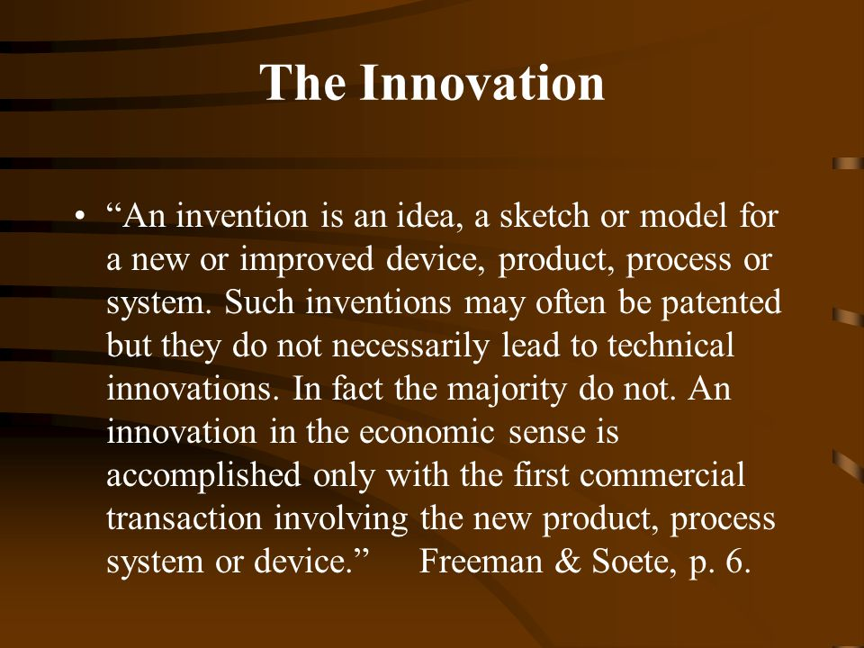 What is the diffusion of innovations ppt download for Innovative product ideas not yet invented