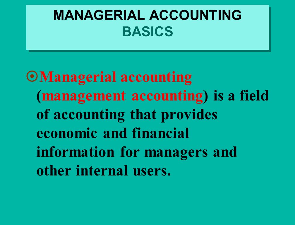 managerial accounting concepts and principles Vi accounting concepts and principles chapter features each chapter contains a number of helpful features to guide you through each topic learning objectives show the referenced cpa australia learning objectives.