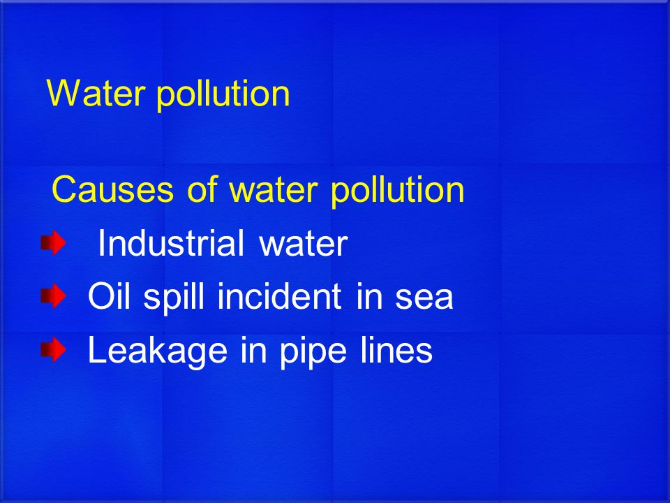 water pollution causes effects and solutions pdf