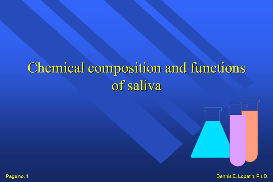saliva functions composition and chemistry Saliva is the watery liquid in our mouths it has important functions, including destroying bacteria, helping to prevent tooth decay, beginning the digestion of food, helping us to speak, and enabling us to swallow food.