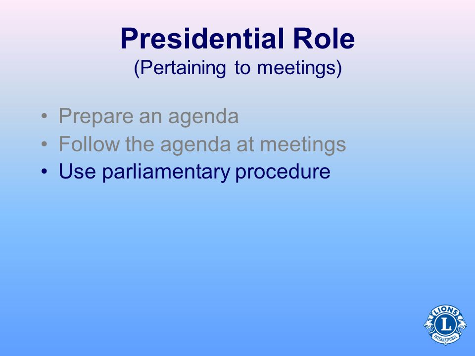 meetings parliamentary procedure and meeting General requirements for a meeting all formal meetings of the  the meeting procedures and  the same meeting by following the same procedure that.