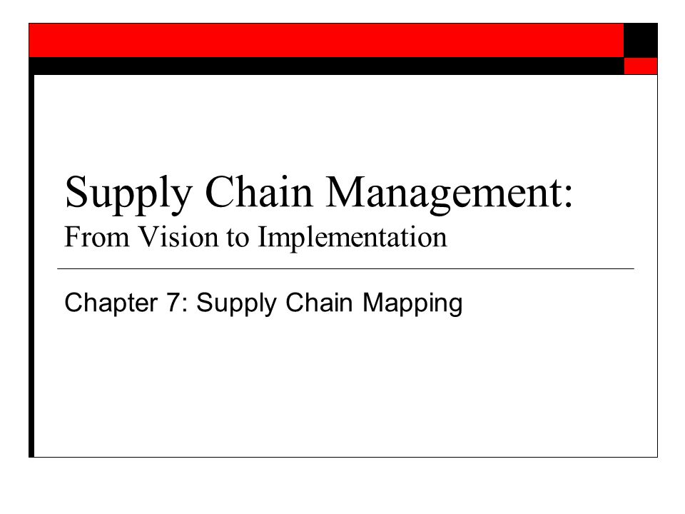 implementation of supply chain management Building the talent pipeline: an implementation guide 4 principles supply chain management talent pipeline management 1 supply chains drive competitive advantage they are not a.