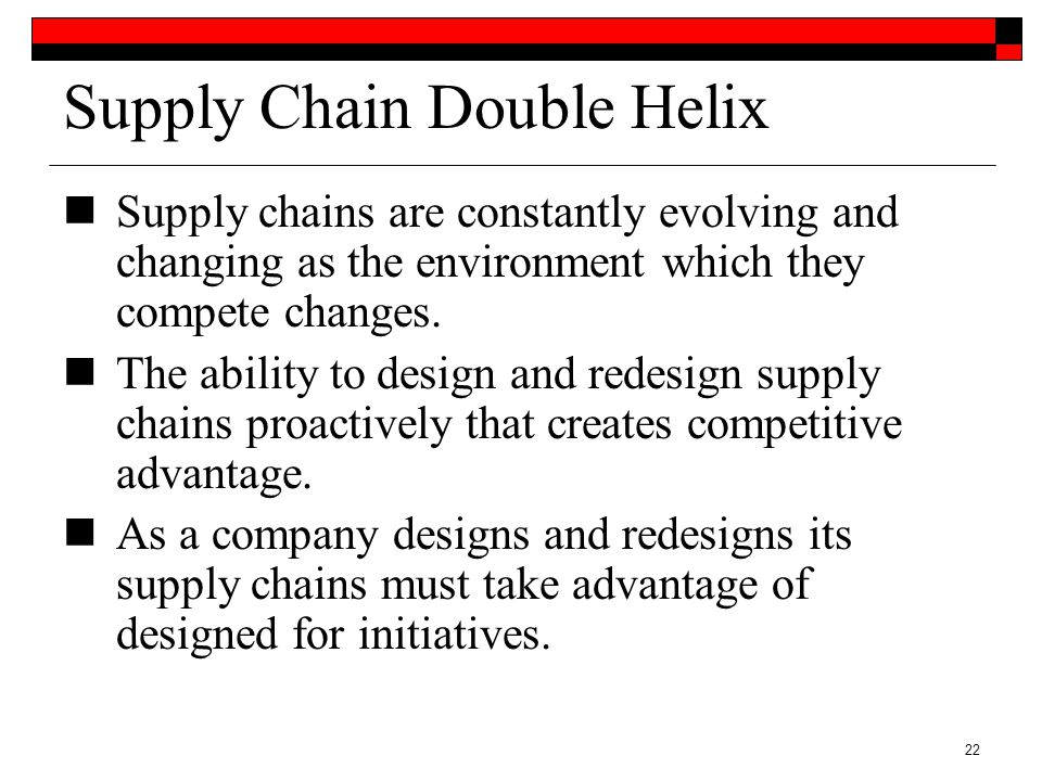 supply chain for competitive advantage Free essay: give arguments to support the statement that wal-mart has achieved very good strategic fit between its competitive and supply chain strategies.