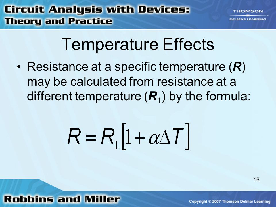 positive effects resistance to change This is defined in the temperature coefficient of resistance  the tcr defines the change in resistance as a  positive or negative temperature coefficient of.