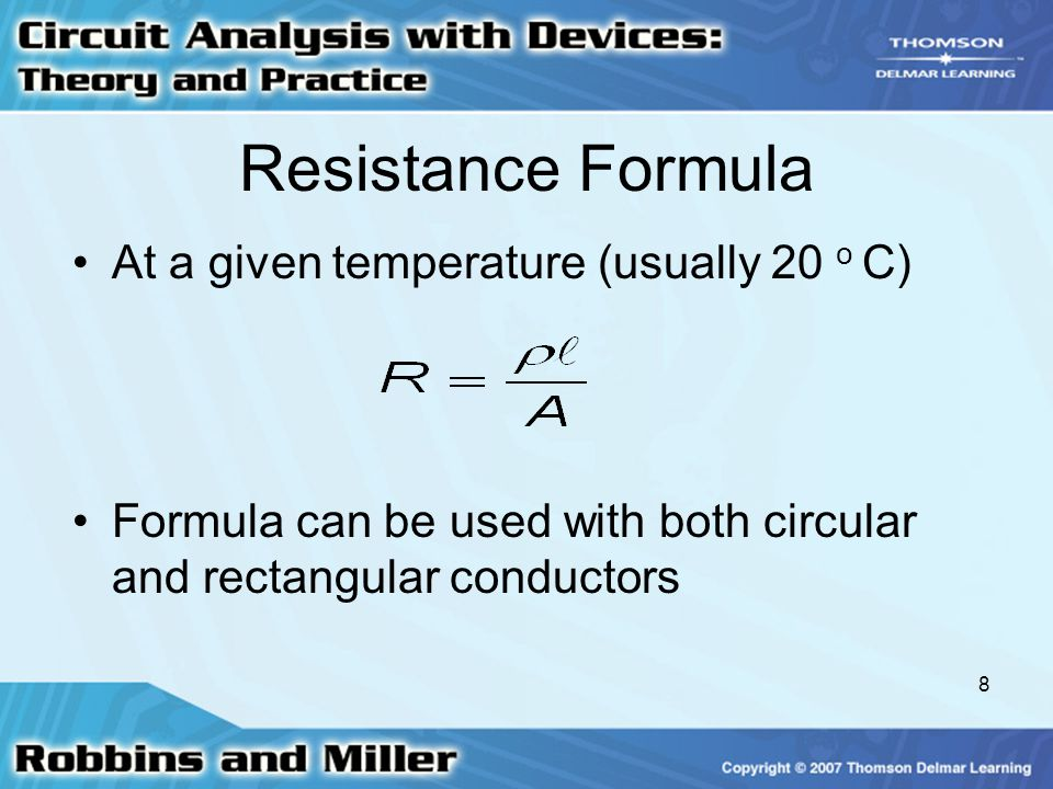 Chapter 3 resistance ppt video online download 8 resistance formula greentooth Gallery