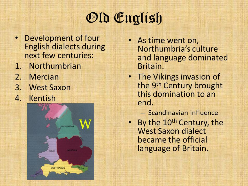 the history of the english language The history and development of english, from the earliest known writings to its status today as a dominant world language, is a subject of major importance to linguists and historians.