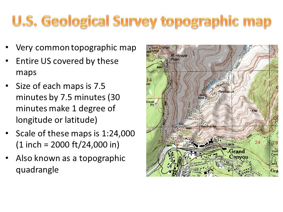 Standard H Read And Interpret Topographic And Geologic Maps - Us geological topographic maps