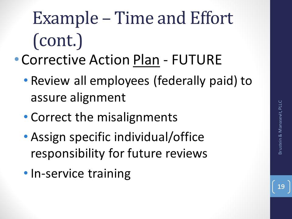 employee corrective action plan