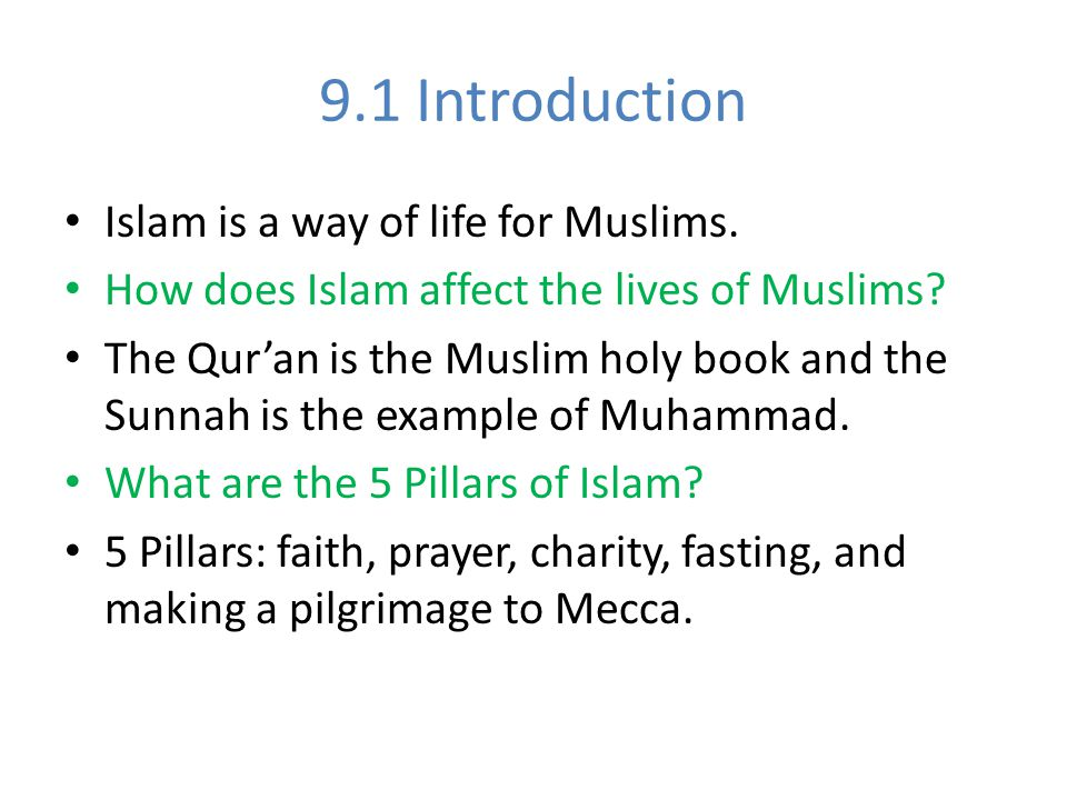 The Teachings Of Islam Chapter Ppt Video Online Download
