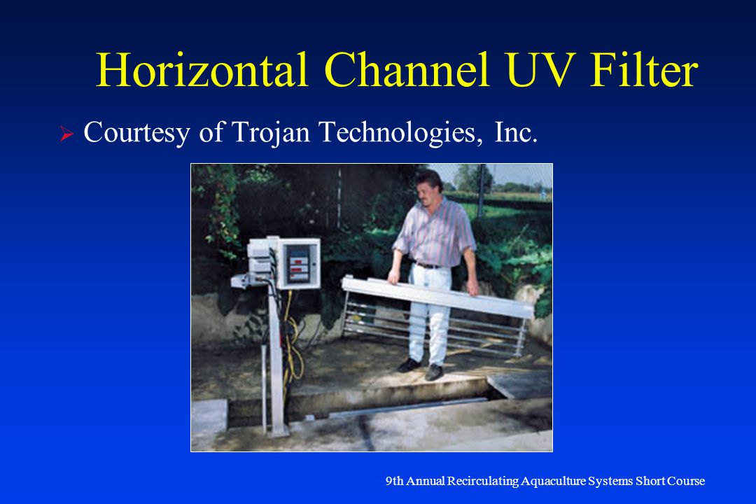 Horizontal Channel Uv Filter on trojan uv water filter systems